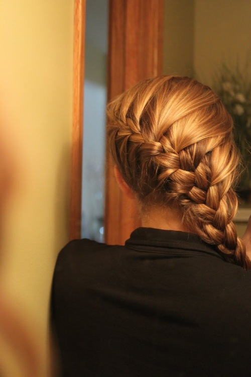 2 strand twist hairstyles : French Braids Hairstyles French braid hairstyles: