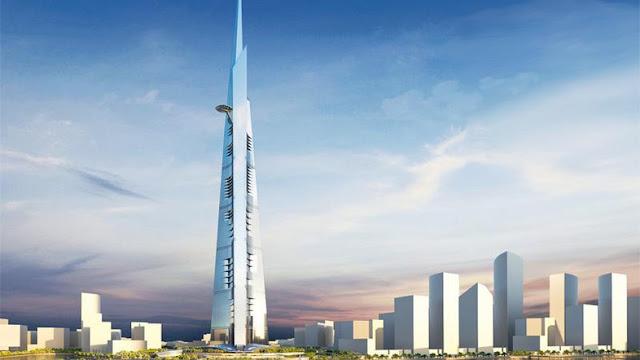 Rekor Gedung Tertinggi di Dunia, Kingdom Tower Akan Kalahkan Burj Khalifa