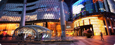 Orchard Road, le paradis du shopping, singapore shopping mall