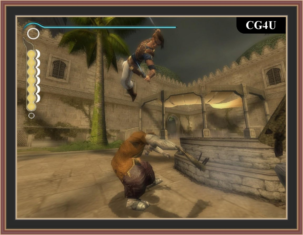 Prince Of Persia - The Sands Of Time Screenshot