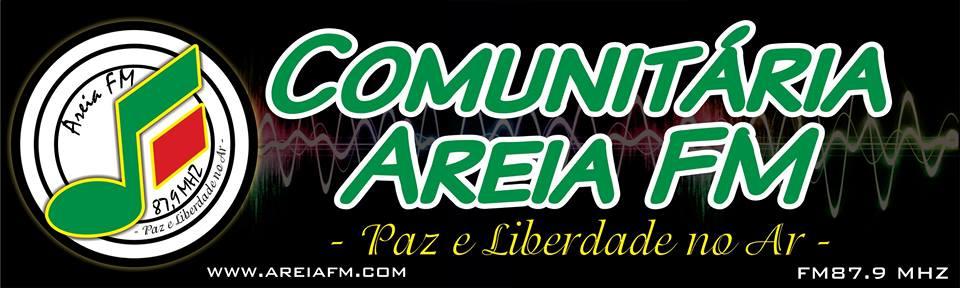Rádio Comunitária Areia Fm = 87.9 (Areia Paraíba)