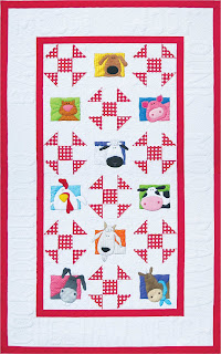 Quilt Inspiration: Free pattern day! Shoo Fly and Churn