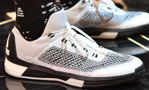 (April 2015) – adidas unveiled the Crazylight Boost 2015. Featuring  Primeknit technology for the first-time ever in a basketball shoe and  coupled with ...