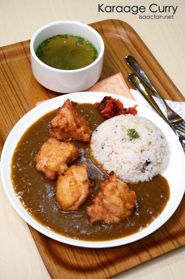Karaage Curry - RM16.80
