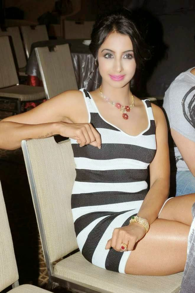 sanjana latest hot photos in mini dress