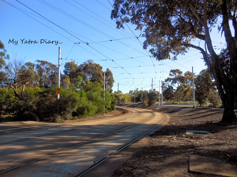 A Tram route, Melbourne