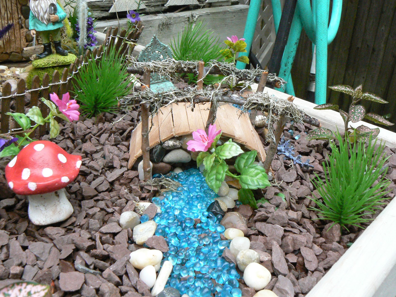 Lovely Fairy Garden With My Daughter Marissa. It Has Become Our Favorite New Hobby  And We Had A Lot Of Fun Creating It. I Hope That You Enjoy Your Visit.