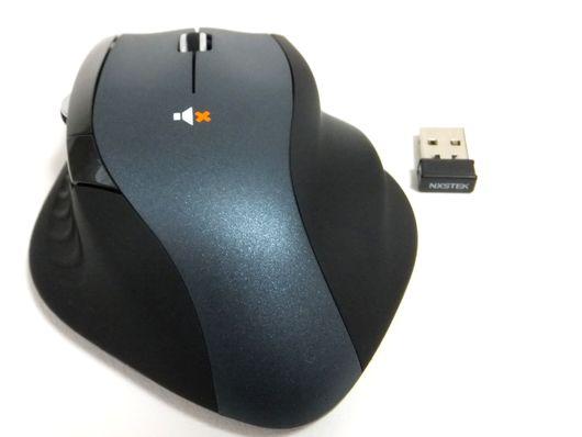 マイクロレシーバーとマウス