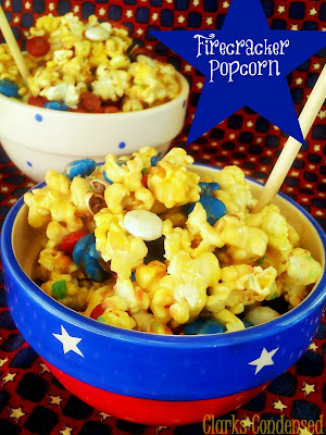 Clarks Condensed: Red, White & Blue Popcorn