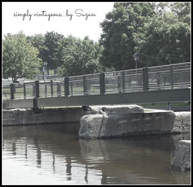 foot, bridge, old, montreal,