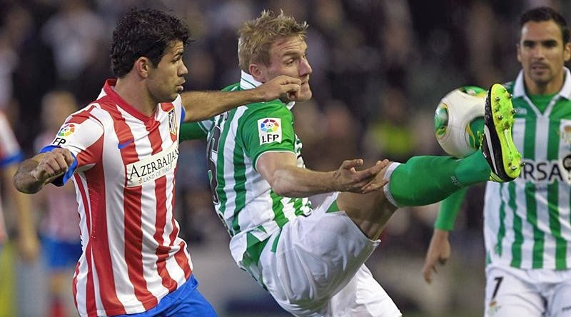 Diego Costa Betis Atlético de Madrid quiniela campeón de liga gol
