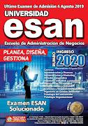 Examen ESAN 2019-2
