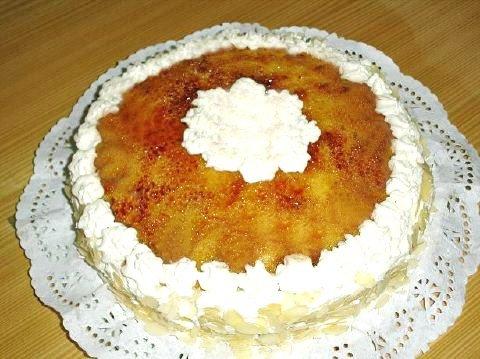 Masa De Cake De Capuchino