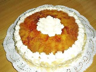 Receta de cake de capuchino