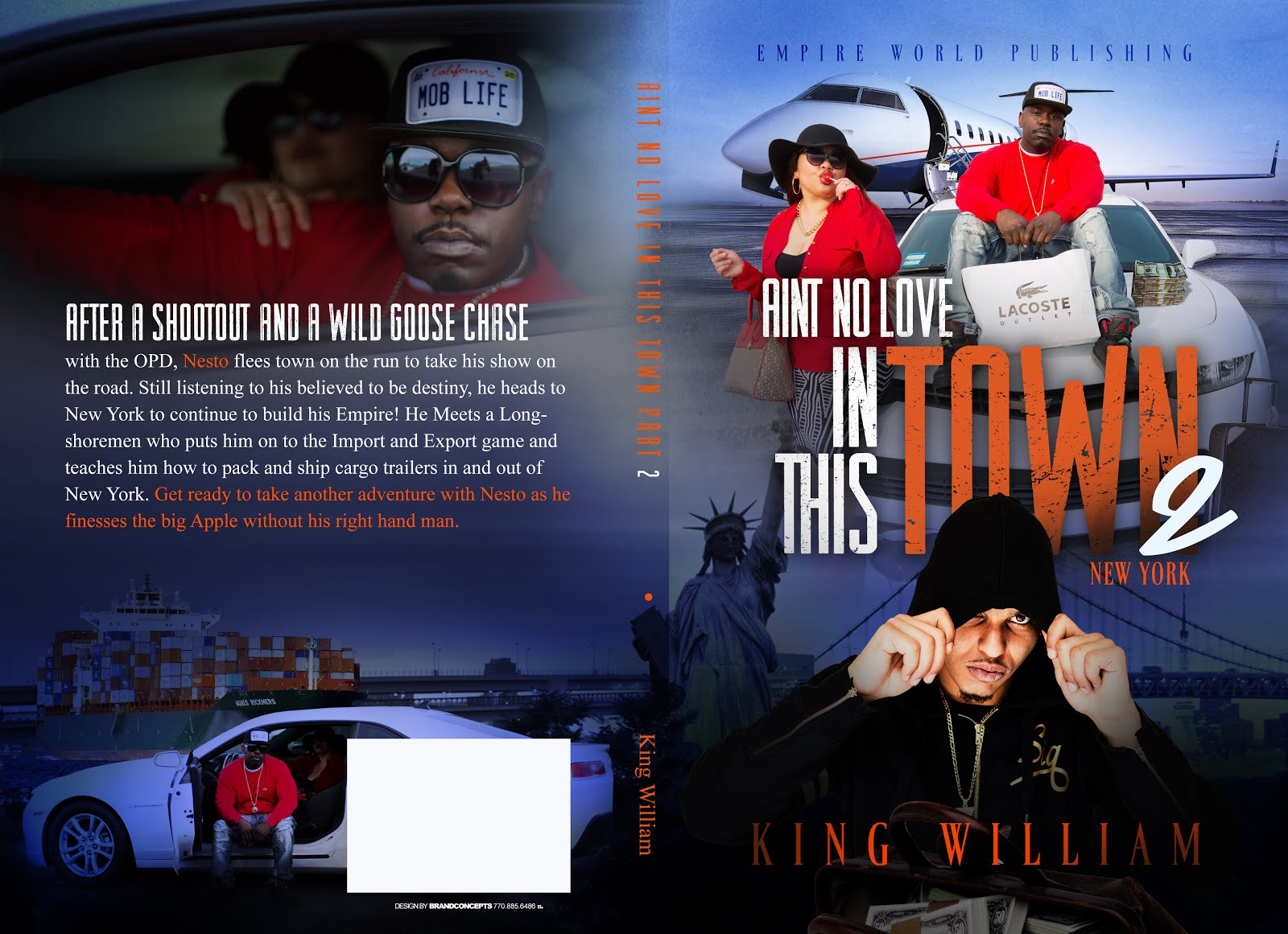 "MY NEW BOOK ""AINT NO LOVE IN THIS TOWN"" BY WILLIAM WARE COMING SOONER THAN LATER"