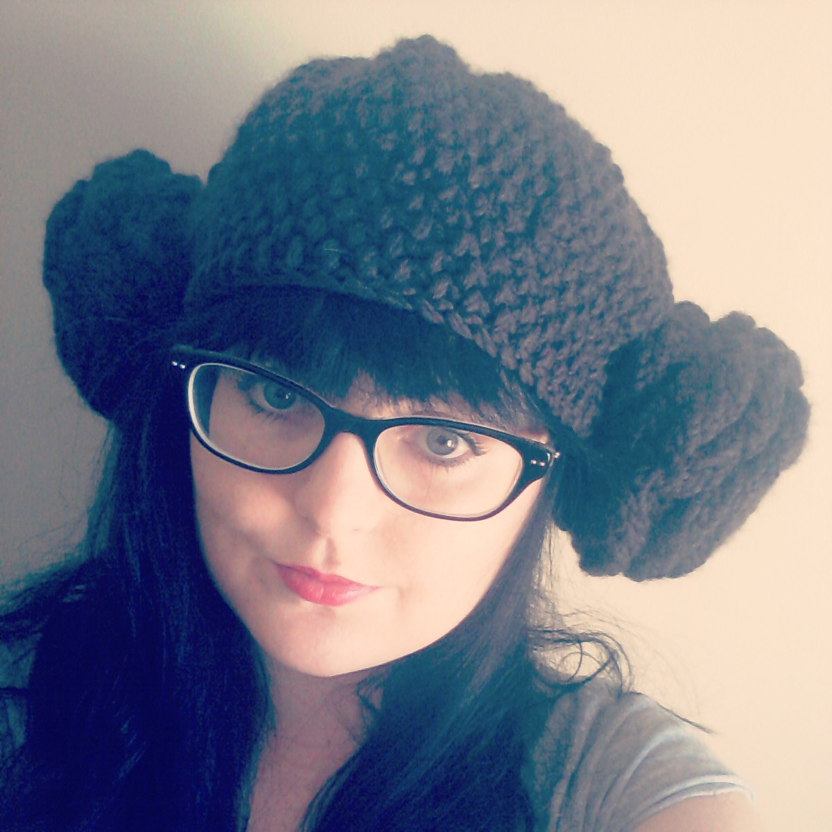 Crochet Pattern Princess Leia Hat : tea and craft: Crochet and Spool knitted Princess Leia Hat!