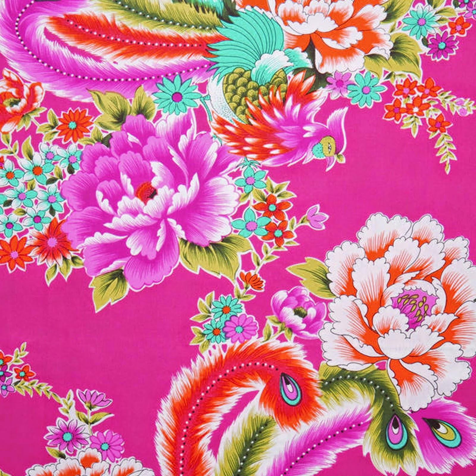 doodlecraft freebie week peacock floral