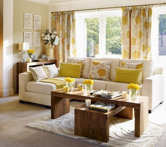 Warm Living Room Paint Ideas for Spring and Summer