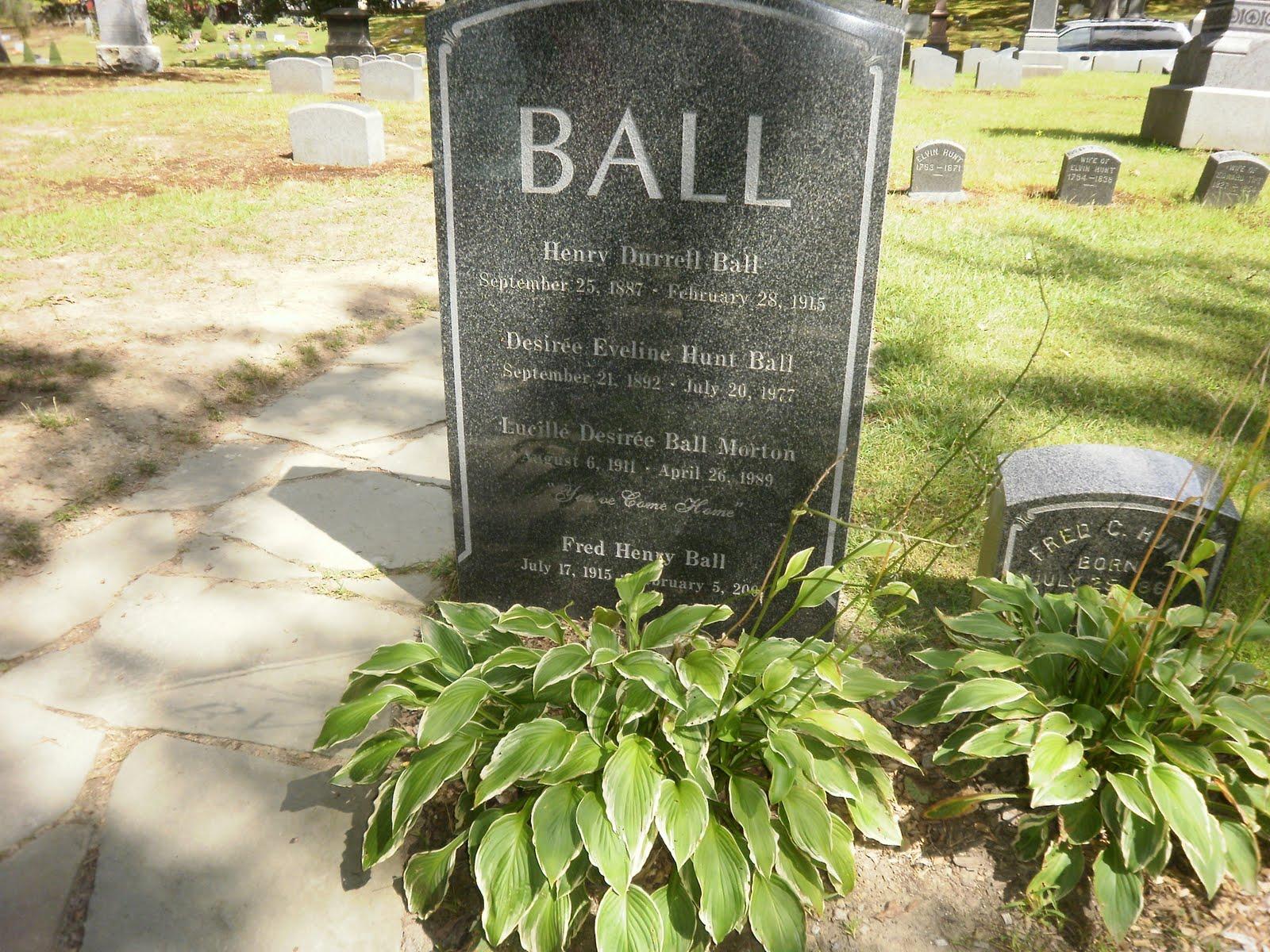 Lucille Ball Grave Lucille desiree ball gravesite