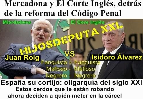 La tarcoteca contrainfo mercadona y el corte ingl s - El corte ingles reformas ...