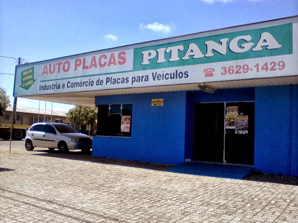 Auto Placas Pitanga