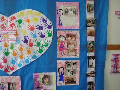 Decoraci n en el jard n de infantes friso d a del maestro for Actividades para el jardin de infantes