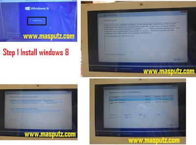 install windows 8 di laptop