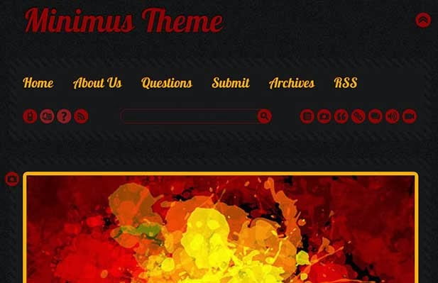 Minimus Tumblr Theme