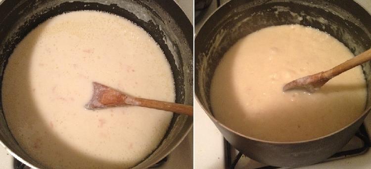 Milk Halwa