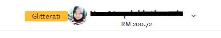 Nuffnang Earning RM200.72