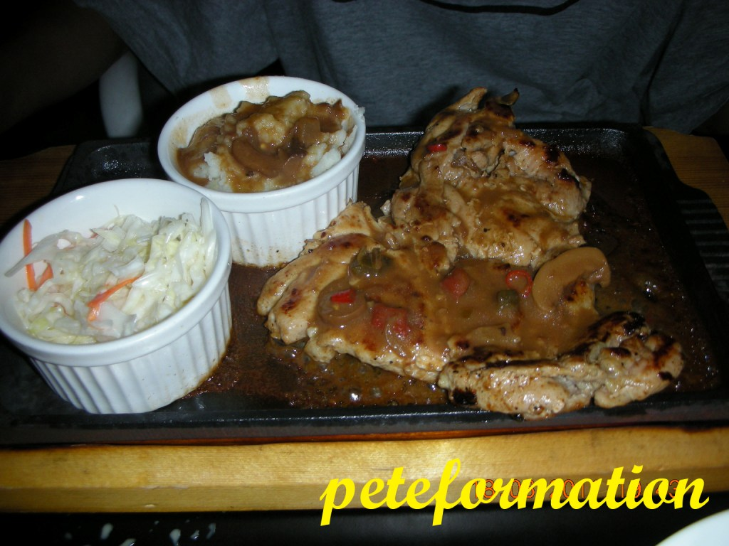 Peteformation foodie adventure stolen recipe restaurant for Good side dishes for grilled chicken
