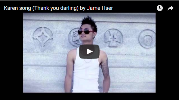 Karen song (Thank You Darling) by Jame Hser