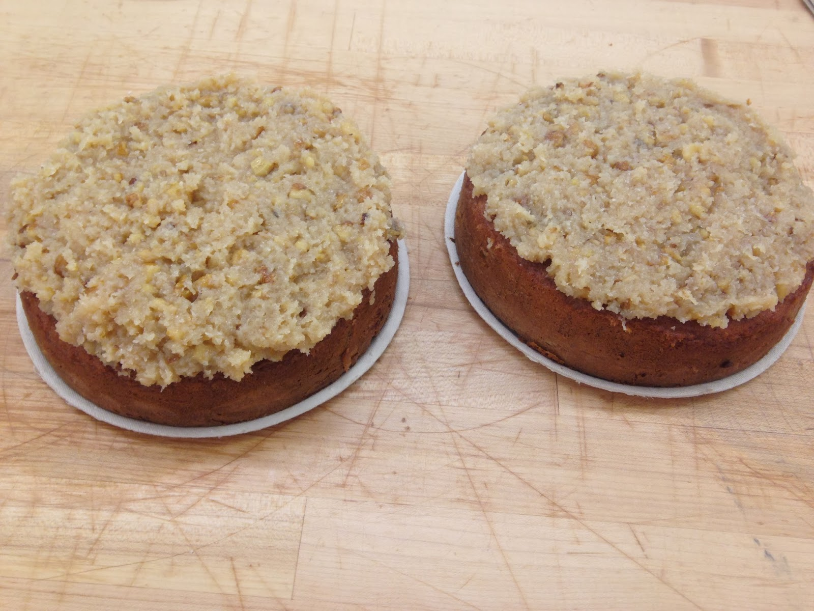 Crafting Baker: Week 3: Banana Cake with German Icing