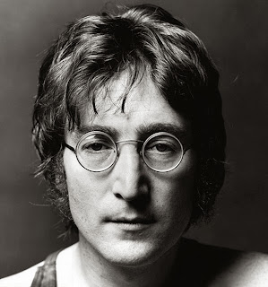 john lennon black and white