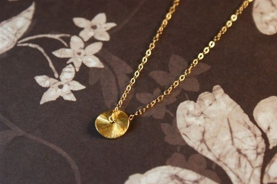 Delicate Etsy Necklace