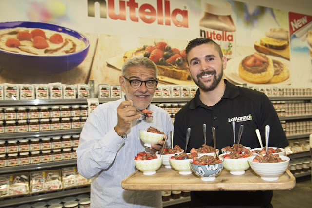 Nutella World, book, Nutella, Gigi Padovani, LaManna Direct