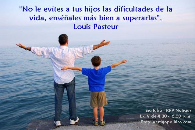 No le evites a tus hijos las dificultades de la vida, enséñales más bien a superarlas