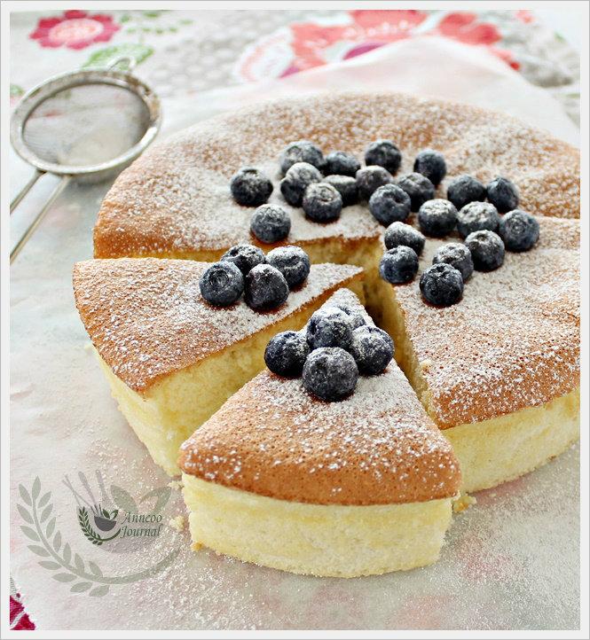 Corn Flour Sponge Cake Gluten Free