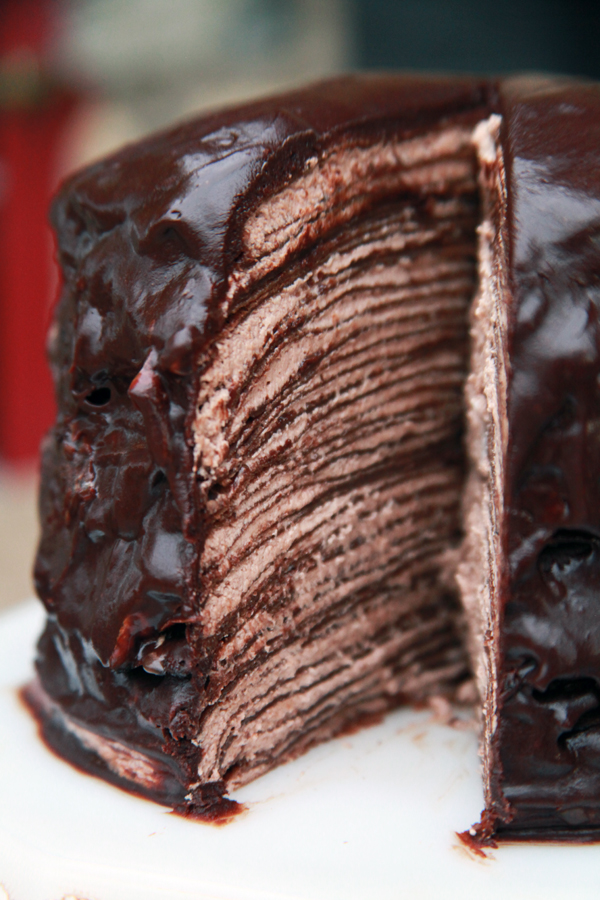 The Rancher S Daughter Chocolate Crepe Cake
