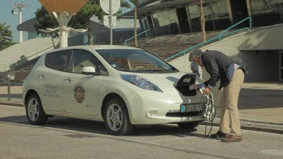 Electric vehicle charging in Portugal