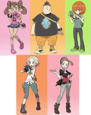 Pokemon X Y Litleo Flabebe Scatterbug Spewpa Vivillon