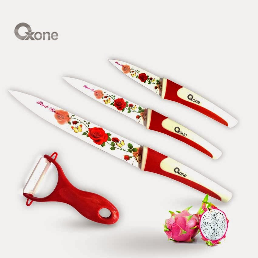 OX-607 | Flower 4Pcs Knife Set