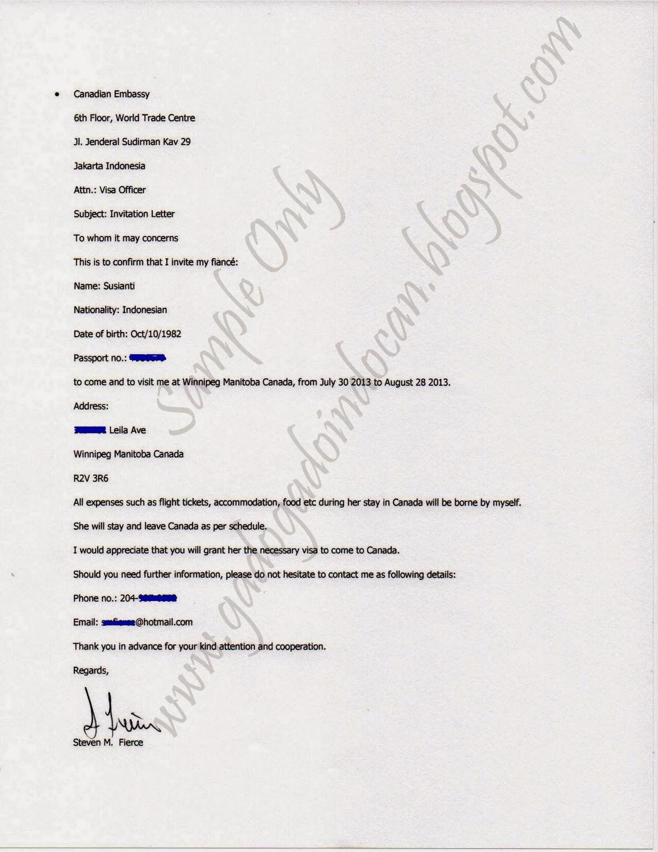 Sample tourist visa covering letter australia cover letter visitor sample invitation letter stopboris Choice Image