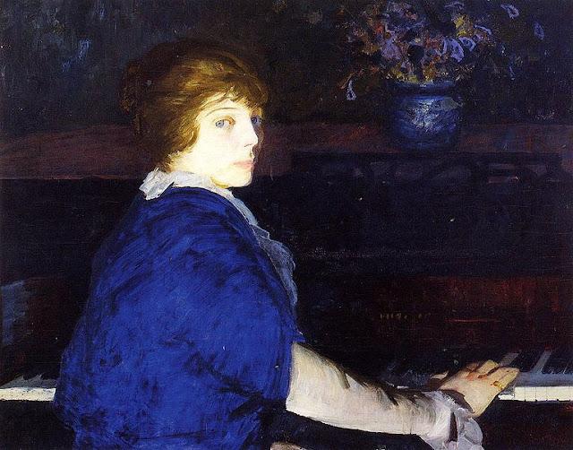 1914 Emma at the Piano