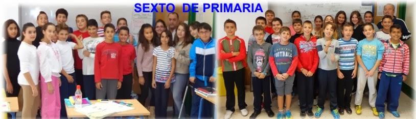 SEXTO DE PRIMARIA