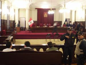 VIERNES 28: PLANTON EN EL PODER JUDICIAL