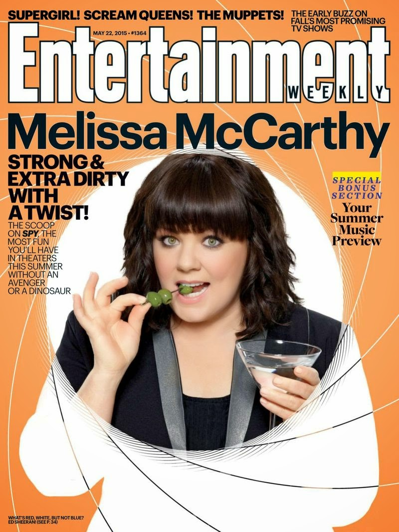Actress @ Melissa Mccarthy - Entertainment Weekly USA, May 2015