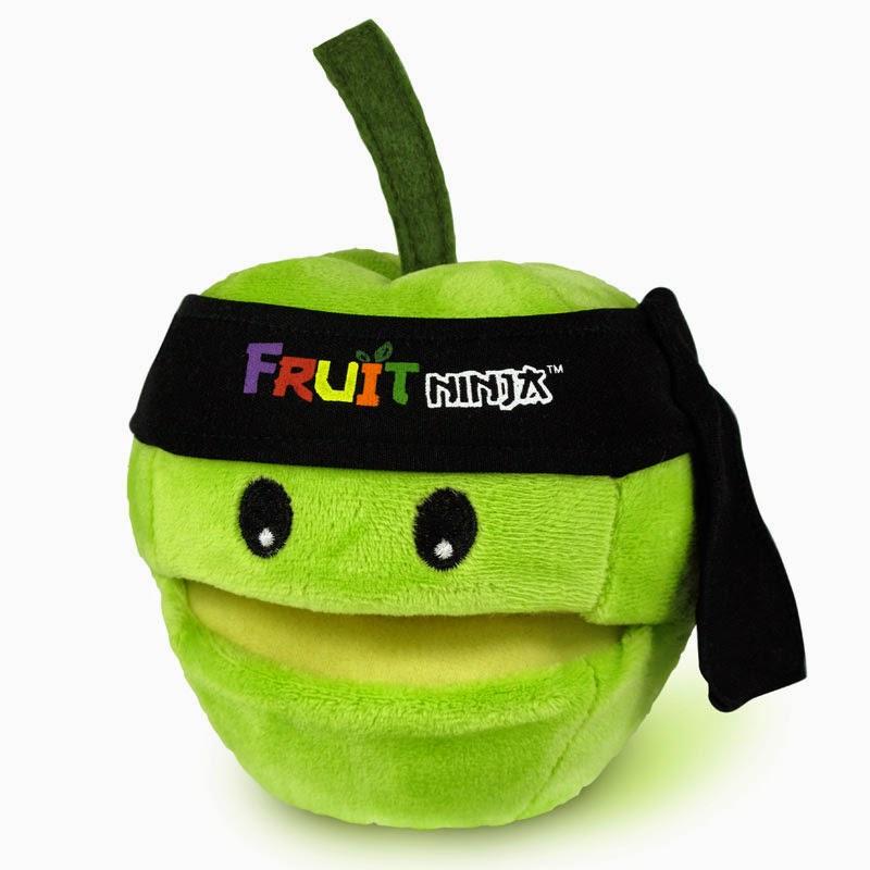 Peluche Fruit Ninja Manzana con sonido