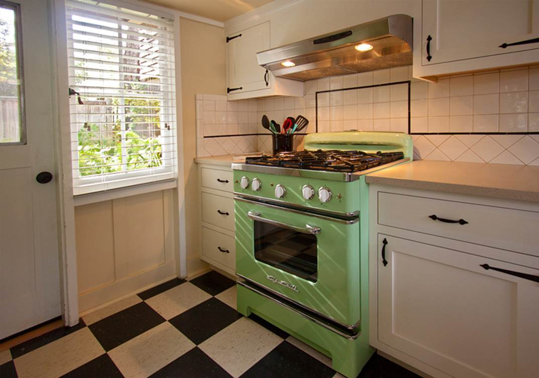 Retro Style Kitchen Appliance Back To The Future With Retro Appliances Informative Kitchen