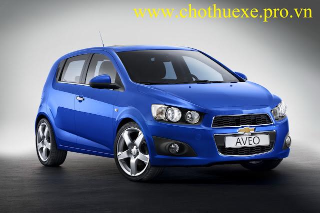 Cho thuê xe 4 chỗ Chevrolet Aveo giá rẻ chất lượng